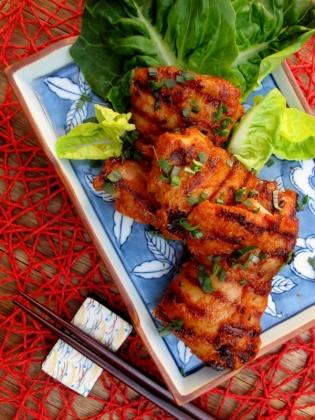 Korean Spicy Grilled Chicken 매운닭구이