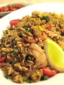 Khao Phad Gai (Chicken Fried Rice)