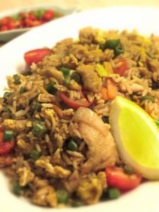 Khao Phad Gai (Chicken Fried Rice)