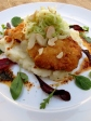 Chicken Katsu with Warm Fennel Salad and Sichuan Chilli Oil