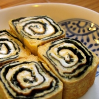 Nori Tamagoyaki (Rolled Omelette with Nori)