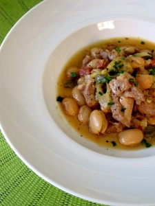 Pork, Fennel & Butter Bean Stew