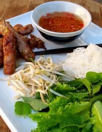 Bún Chả (Vietnamese Grilled Pork, Salad & Noodles)