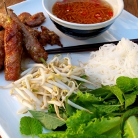 Bún Chả (Vietnamese Grilled Pork, Salad & Noodles)
