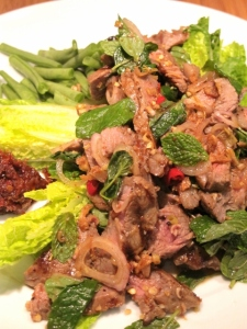 Thai Waterfall Beef Salad (Neua Naam Tok) น้ำตกเนื้อ